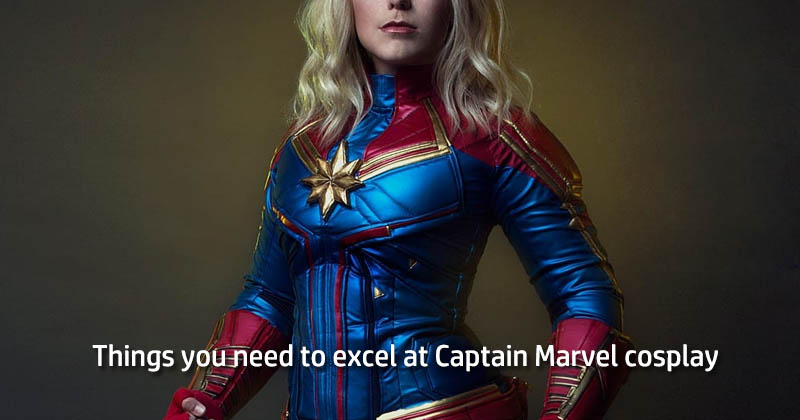 Things you need to excel at Captain Marvel cosplay