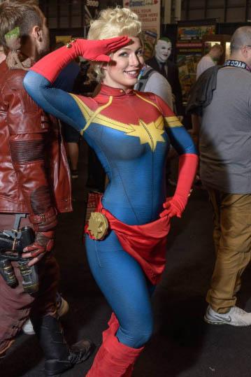 captain marvel cosplay bodysuit