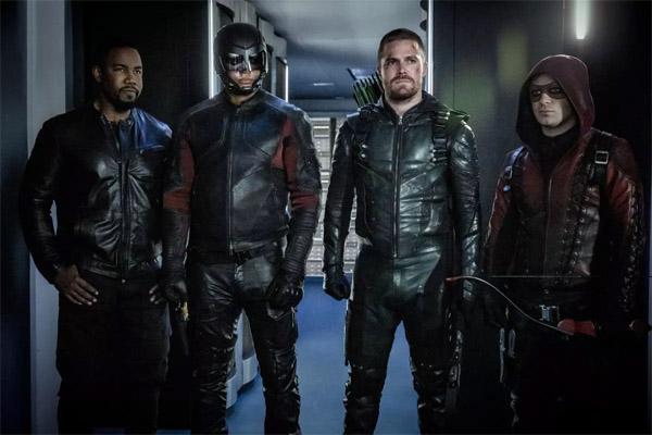 green arrow team in season 4
